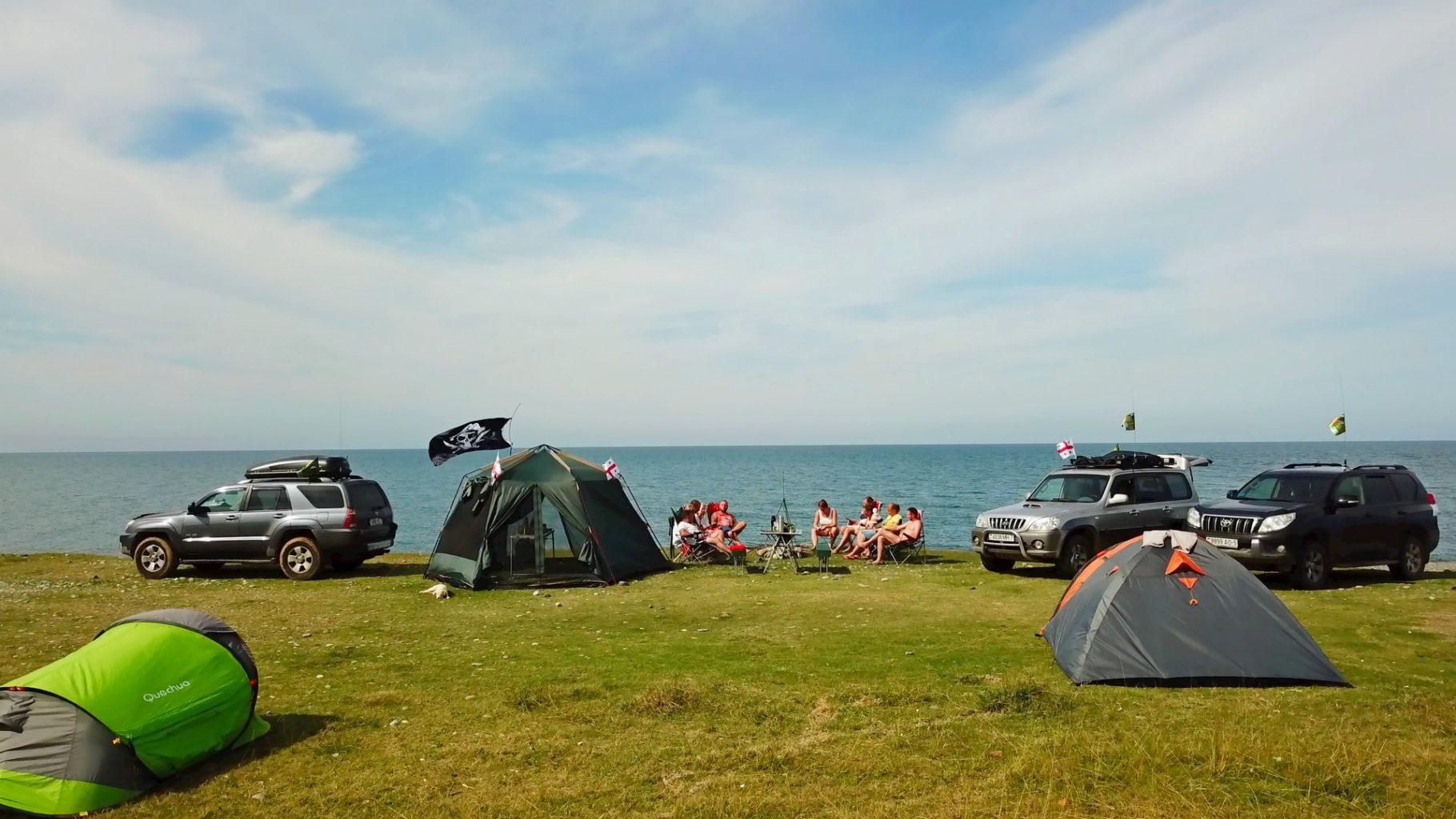 палатка+море