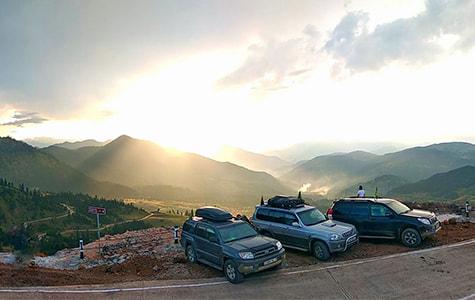 грузинский закат